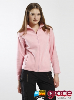 Ladies Lorna 100% Polyester Low Pill Fleece
