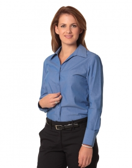 M8002 Ladies Nano Tech Shirt LS