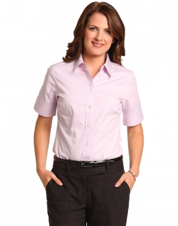 M8040S Ladies CVC Oxford Shirt SS