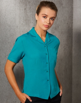 M8614S Ladies CoolDry Overblouse SS