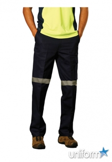 AIW Heavy Cotton Pre-shrunk Drill Pants with 3M Tape