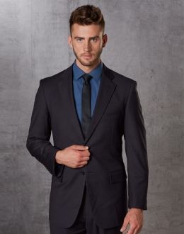 Men's Poly/Viscose Stretch Jacket