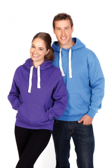 Mens Brushed Heavy Fleece Hoodie