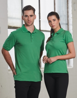 PS55 Mens Cotton Stretch Darling Harbour Polo