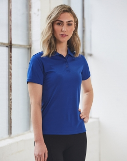 PS76 Icon Textured Polo Ladies