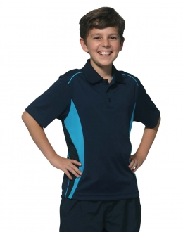 PS79K Kids Pursuit Contrast Polo