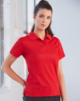 PS82 Ladies Cooldry Polyester Pique Polo