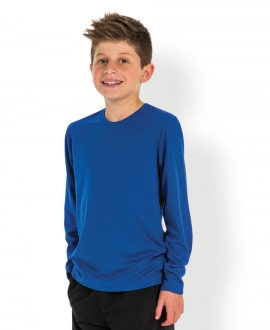 7PLFTK Podium Kids L/S Poly Tee