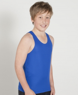 7KPO Podium Kids Poly Singlet