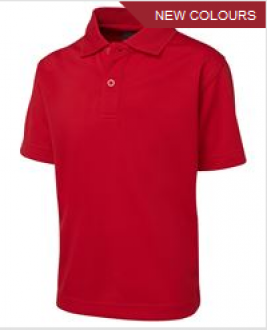 Podium Kids S/S Poly Polo