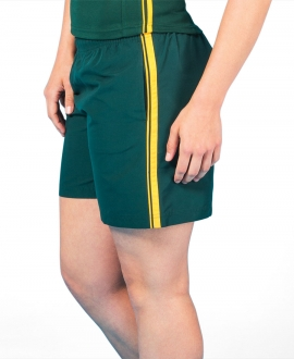 Podium Ladies Dual Stripe Warm Up Shorts