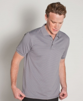Podium Mini Stripe Polo