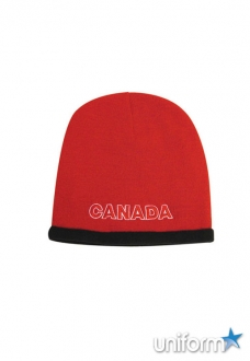 Roll Down Acrylic & Polar Fleece Beanie