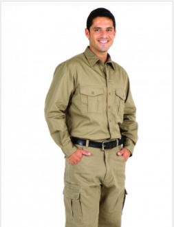 S005ML Long Sleeve Work Shirt