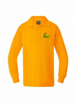 SAP Youth Yellow Polo LS