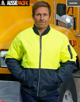 SW06AL HiVis Two Tone Flying Jacket Larger Size