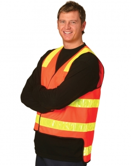 SW10A HiVis Safety Vest Vic Roads
