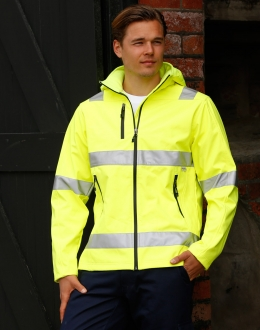 SW30 Hi-Vis Safety Jacket Unisex