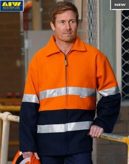 SW31A HiVis Two Tone Bluey Jacket