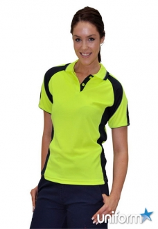 AIW Safety Polo with Underarms Mesh