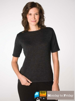 Short Sleeve Crew Neck Pullover