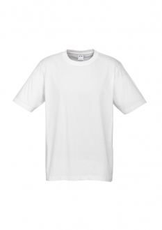 T10012W Mens Ice Tee White