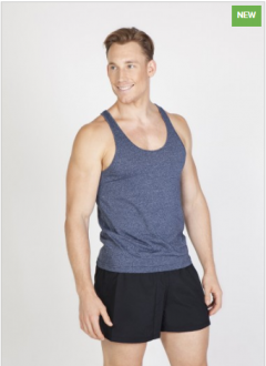 T409SG Greatness T-Back Singlet Mens