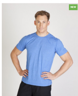 T449MS Heather TShirt Mens