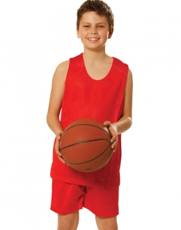 TS81K Reversible Basketball Singlet Kids