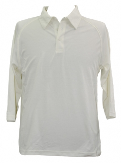 TrueDry 3qtr Cricket Polo