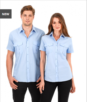 W61 Ladies Jasper Shirt Short Sleeve