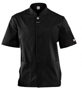 WAITERS JACKET, SHORT SLEEVE WITH CONCEALED PRESS STUDS & POCKETS