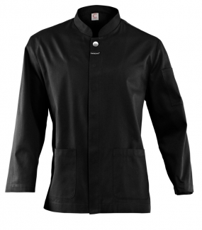 WAITERS JACKET, LONG SLEEVE WITH CONCEALED PRESS STUDS & POCKETS