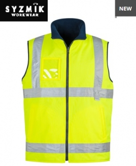 ZV358 Mens HiVis Waterproof Lightweight Vest