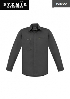ZW350 Mens Streetworx Stretch L/S Shirt