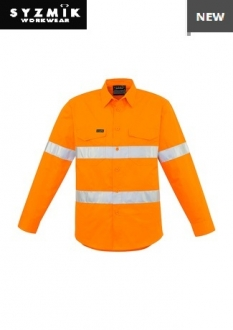 ZW640 Mens Hi Vis Hoop Taped Shirt