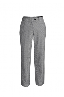 LADIES CHEF FLAT FRONT TROUSER