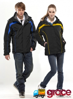 Montem 100% Polyester Water Resistant Jacket